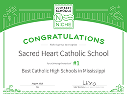 #1 Best Catholic High Schools in Mississippi
